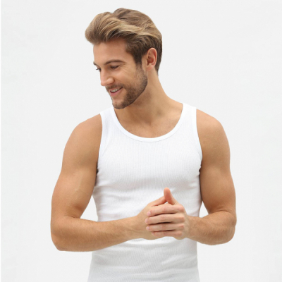 Dickies Proof Vest White in the group Men / Undergarments / Tank tops/vests at Sivletto - Skylark AB (w3306)
