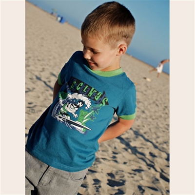 Bone Yard Milo Tee in the group Kids / 2 – 8 years at Sivletto (w3364)