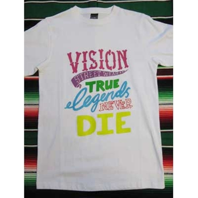 Vision Real Legends tee in the group Clearance / Men / T-shirts at Sivletto (w3551)