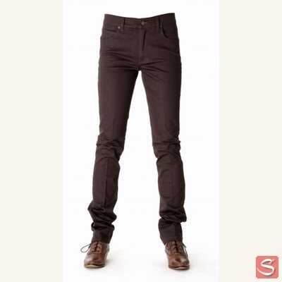 Tight prest brown in the group Clearance / Women / Pants at Sivletto (w3616)