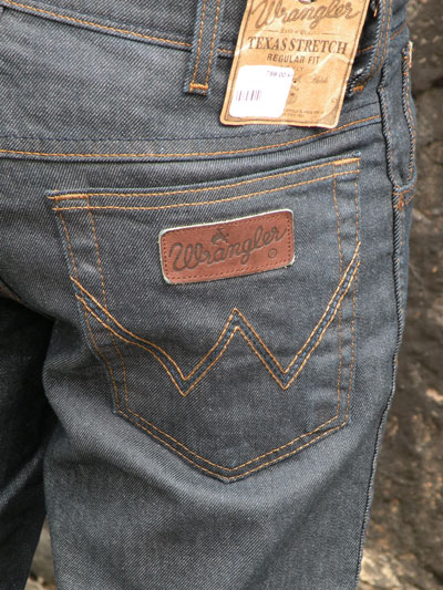 Wrangler Texas Rinse in the group Denim / Jeans at Sivletto (w3658)