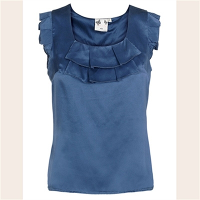 Edith & Ella True blue top in the group Clearance / Women / Tops etc at Sivletto (w3740)