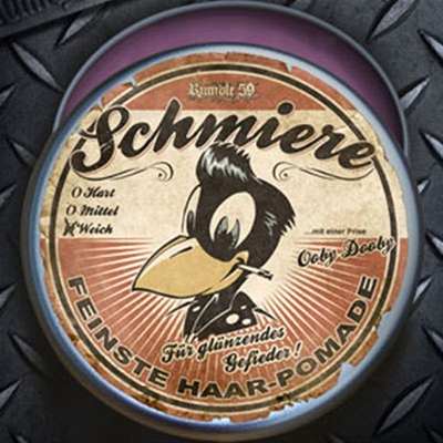 Schmiere - Pomade glanz / weich in the group Hair and skincare / Pomade / Oil based pomade at Sivletto - Skylark AB (w3746)