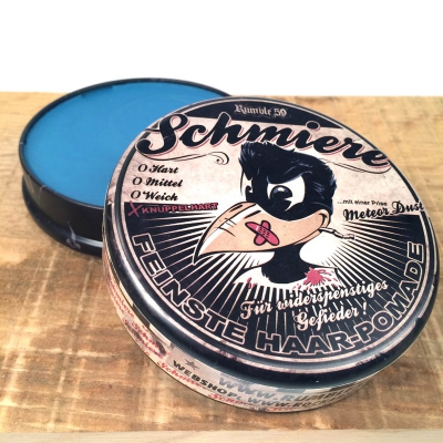 Schmiere - Pomade Knüppelhart in the group Hair and skincare / Pomade / Oil based pomade at Sivletto - Skylark AB (w3749)