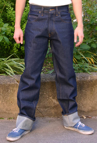 Prison Blues 50s Cut Classic Jeans - Relaxed fit  in the group Denim / Jeans at Sivletto (w3956)