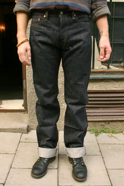 Momotaro 0201 Slim Vintage Label in the group Unionville / Jeans at Sivletto (w3977)