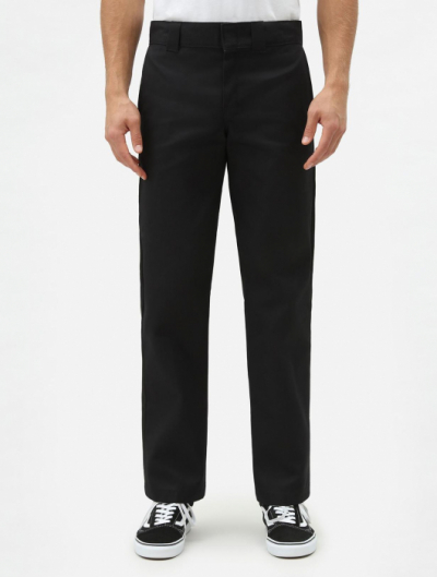 Dickies 873 Slim Straight Black Work Pant in the group Men / Trousers at Sivletto - Skylark AB (w3984)