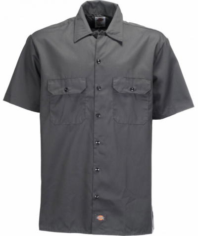 Dickies Shortsleeve work shirt charcoal in the group Sale! / Men / Shirts at Sivletto - Skylark AB (w4022)