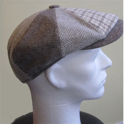 Wigéns Patchwork cap in the group Men / Hats, caps, beanies at Sivletto (w4047)