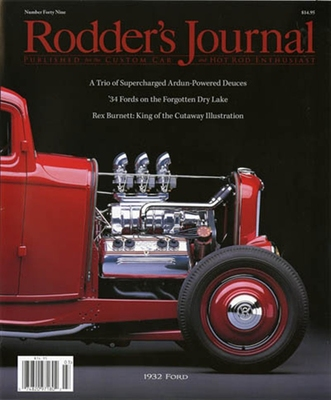Rodder's Journal issue 49 in the group Misc / Magazines / Vehicles at Sivletto (w4169)