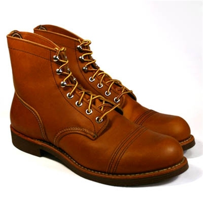 Red Wing Style No. 8112 Iron Ranger Oro Russet in the group Unionville / Made in USA at Sivletto (w4178)