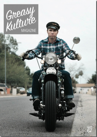 Greasy Kulture issue 62 in the group Magazines / Vehicles at Sivletto - Skylark AB (w4182-62)