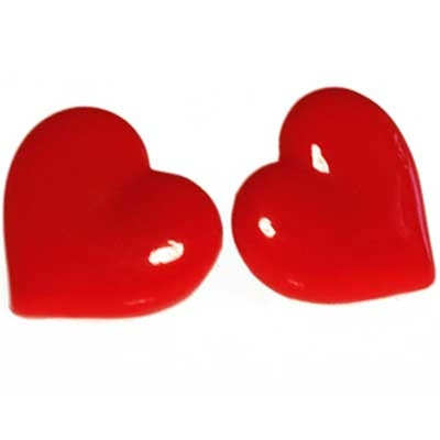 Earring heart in the group Clearance / Women / Misc at Sivletto (w4187)