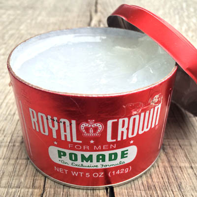Royal Crown Pomade 5 oz in the group Hair and skincare / Pomade at Sivletto - Skylark AB (w4548)