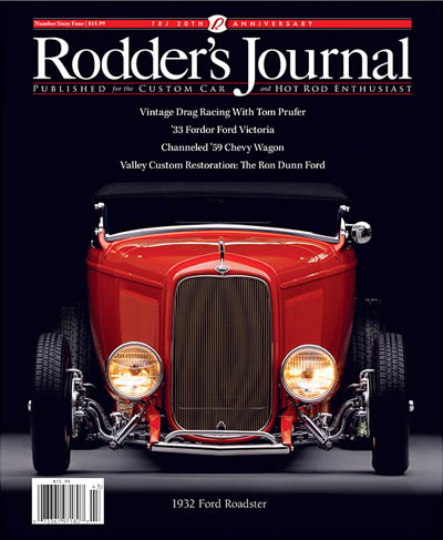 Rodder's Journal Issue 64 in the group Misc / Magazines / Vehicles at Sivletto (w4556-64)