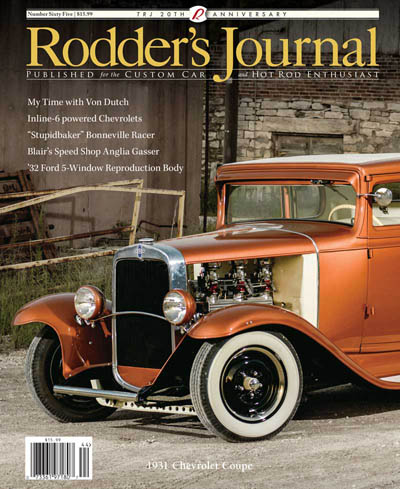 Rodder's Journal issue 65 in the group Clearance / Misc at Sivletto - Skylark AB (w4556-65)