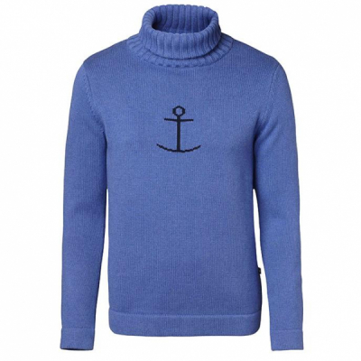 Jumperfabriken Haddock sweater turtleneck in the group Men / Sweaters at Sivletto (w4726)
