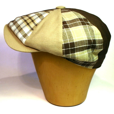 Wigéns Cotton Patchwork cap in the group Clearance / Men / Headwear at Sivletto (w4742)
