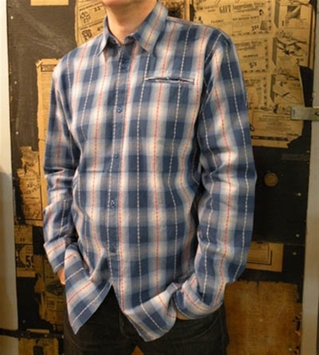 Ambiguous Wilcox Blue Shirt in the group Clearance / Men / Shirts at Sivletto (w4827)