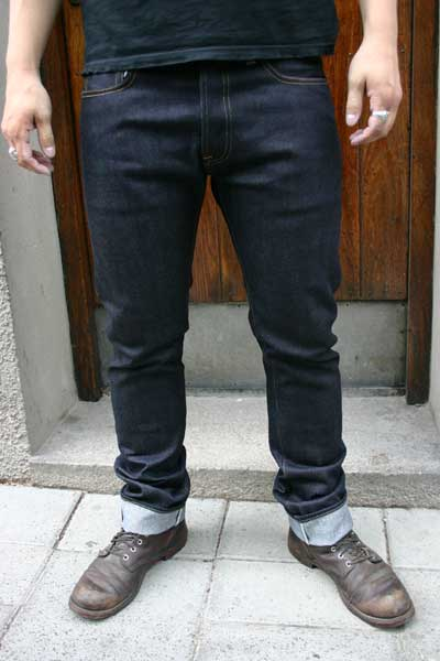 Indigofera Ray Selvage No9 in the group Unionville / Jeans at Sivletto (w5063)