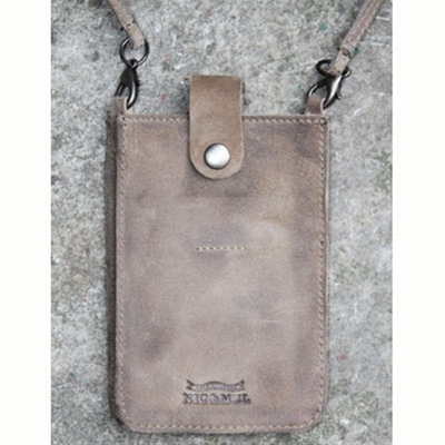 Nic & Mel iPhone holder w strap nubuck in the group Men / Accessories at Sivletto (w5157)