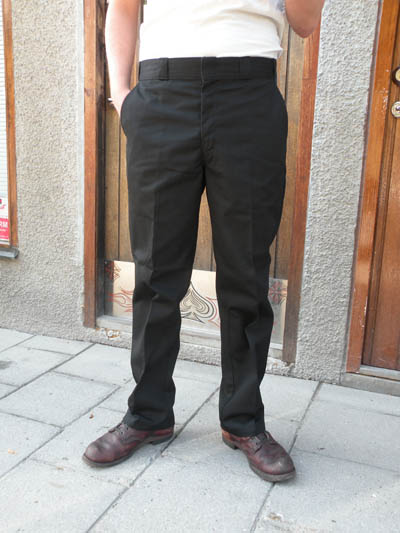 Big Bill 1948 Black Work Chino Plain Front in the group Clearance / Men / Pants at Sivletto - Skylark AB (w5277)