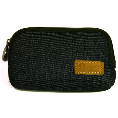 Wallet zip blue denim in the group Clearance / Men / Misc at Sivletto (w5295)