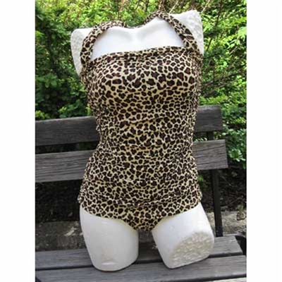 Esther Williams Classic Sheath Leopard in the group Clearance / Women / Misc at Sivletto (w5297)