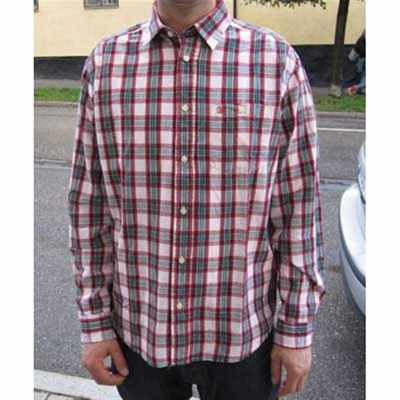Wrangler Newman 1 Pkt Red in the group Clearance / Men / Shirts at Sivletto (w5496)