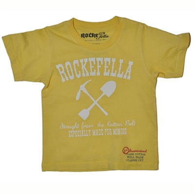 Sonny yellow tee in the group Clearance / Kids at Sivletto (w5587)