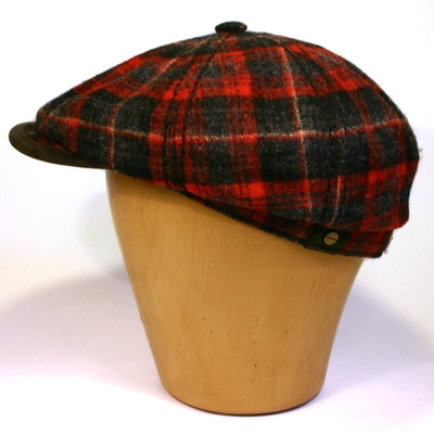 Stetson Hatteras Woolrich in the group Men / Headwear / Flat caps at Sivletto - Skylark AB (w5803)