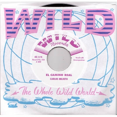 Carlos Mejuto - El Camino Real b/w Waterboy in the group Misc / Music / Vinyl at Sivletto (w5835x)