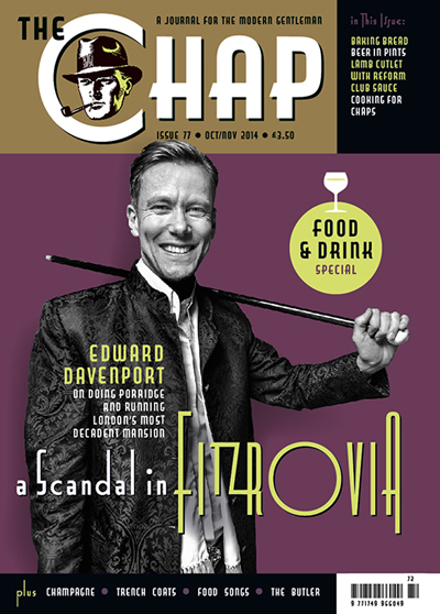 The Chap Issue 77 in the group Magazines / Lifestyle at Sivletto - Skylark AB (w5944-77)