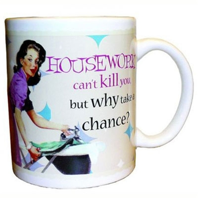 Housework can't kill mug in the group Home and stuff / Kitchen & edibles at Sivletto (w6034)