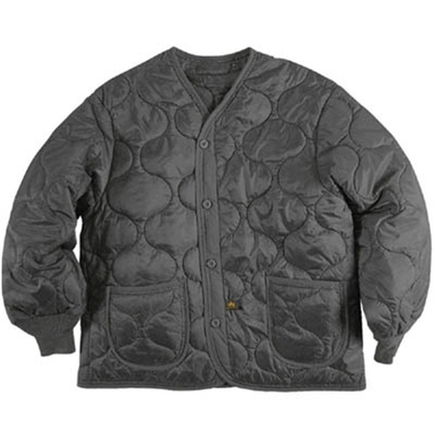 Alpha Industries Inc. ALS M-65 Liner black in the group Men / Jackets and coats at Sivletto (w6069)