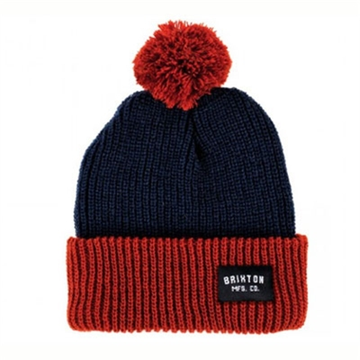 Brixton Roy navy/rust in the group Clearance / Men / Headwear at Sivletto (w6082)