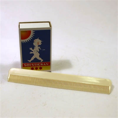Moustache and Beard Comb in the group Hair and skincare / Combs at Sivletto - Skylark AB (w6278)
