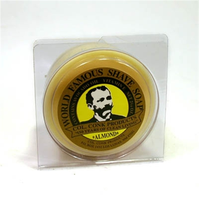 Col Conk Almond Shave Soap in the group Hair and skincare / Shaving at Sivletto - Skylark AB (w6282)