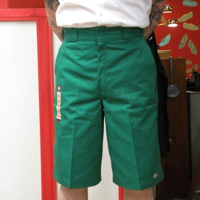 Dickies Work Shorts Multi pocket Green in the group Men / Shorts at Sivletto (w6348)