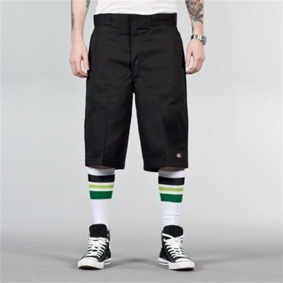 Dickies 13 inch Multi-Pocket Work Shorts Black in the group Sale! / Men / Trousers at Sivletto - Skylark AB (w6365)