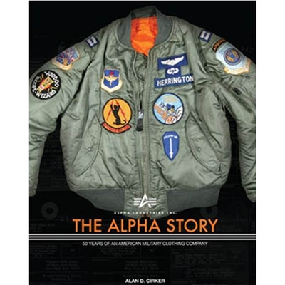 Alpha Industries Inc. The Alpha story in the group Books / Lifestyle at Sivletto - Skylark AB (w6408)