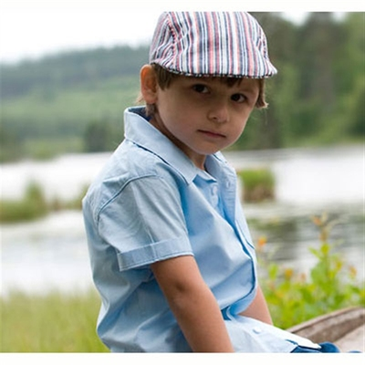 CTH Sigge kids cap surf stripe in the group Kids / Accessories at Sivletto (w6421)