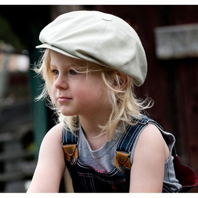 CTH Olle Jr. Windsor Putty kids cap  in the group Kids / Accessories at Sivletto - Skylark AB (w6423)