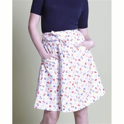 Jumperfabriken Eira Skirt White in the group Clearance / Women / Skirts at Sivletto - Skylark AB (w6528)
