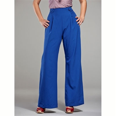 Emmy Design The 40's flare pants  in the group Clearance / Women / Pants at Sivletto (w6569)