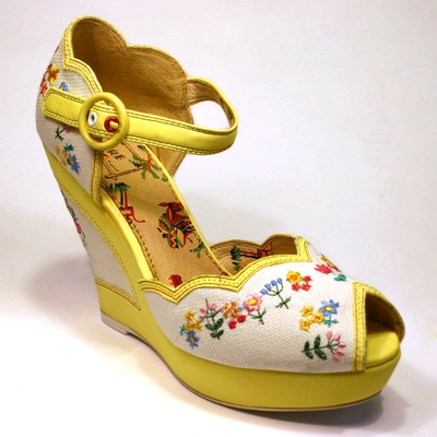 Homemaker lemon shoe in the group Clearance / Women / Women Shoes at Sivletto (w6718)