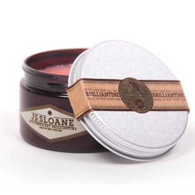 JS Sloane Mediumweight Brilliantine in the group Hair and skincare / Pomade / Water soluble pomade at Sivletto - Skylark AB (w6723)