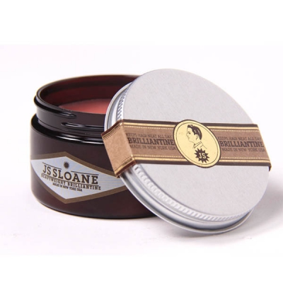 JS Sloane Heavyweight Brilliantine in the group Hair and skincare / Pomade / Water soluble pomade at Sivletto - Skylark AB (w6724)