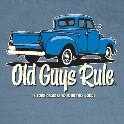 Old Guys Rule It Took Decades Tee  in the group Men / T-shirts at Sivletto - Skylark AB (w6756)
