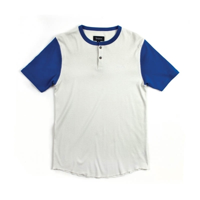 Brixton Lewis White/Royal in the group Clearance / Men / T-shirts at Sivletto (w6825)